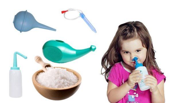 Как промыть ребенку нос дома