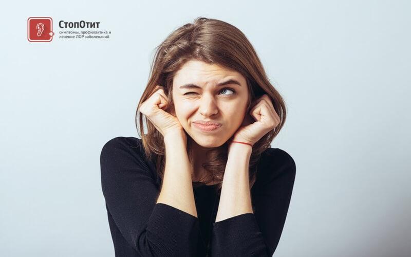 Почему хлюпает в ухе — Лор и Простуда