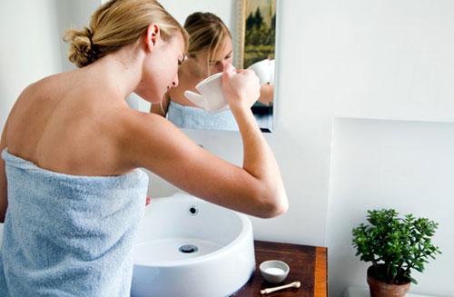 Промывание носа содой и солью