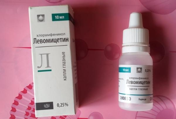 Левомицетин капли в нос детям до года