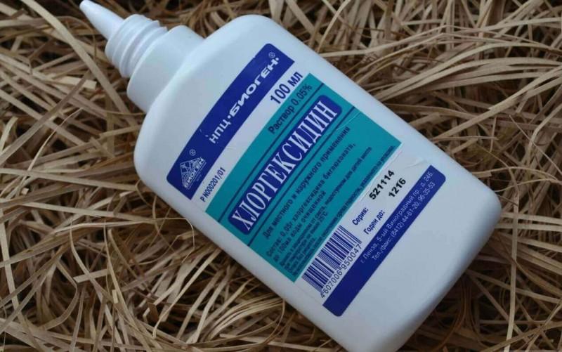 Как промыть нос Хлоргексидином при гайморите