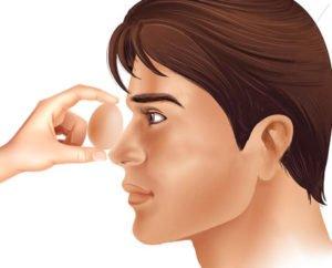 Можно ли греть при гайморите: нос, пазухи, переносицу - солью и яйцом, лоб, допустимо ли париться в бане, использование синей лампы в домашних условиях